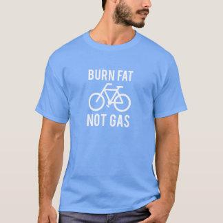 T-shirt graisse de brûlure, pas gaz
