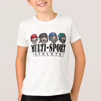 T-shirt Grand athlète de Multi-Sport d'enfant