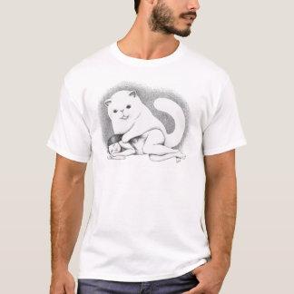 T-shirt Grand chat