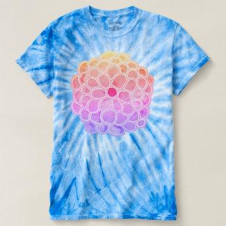 T-shirt Grand chrysanthème en pastel