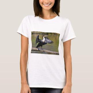 T-shirt Grand Cormorant avec les ailes ouvertes