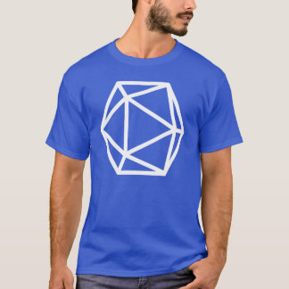 T-shirt Grand D20 Isocahedron