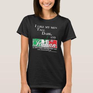 T-shirt Grand, foncé, et Italien pour les chemises foncées