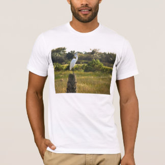 T-shirt Grand héron aux marécages de Viera