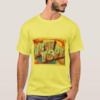 T-shirt Grande carte postale de voyage de lettre de New
