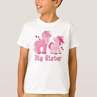 T-shirt Grande soeur rose de Ponys