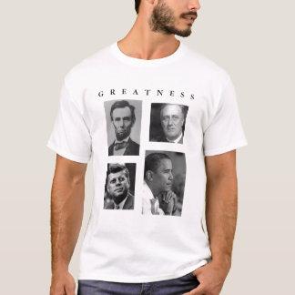 T-shirt GRANDEUR Lincoln FDR JFK Obama d'OBAMA