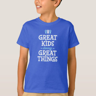T-shirt Grands enfants faisant de grandes choses