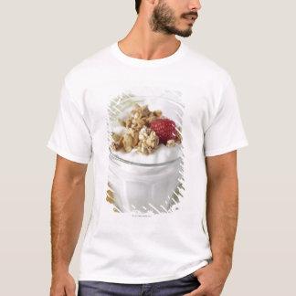 T-shirt Granola, avoine, grillée, fruit, baie, framboise,