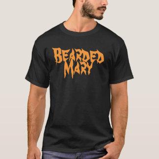 T-shirt Graphique barbu en métal de Mary
