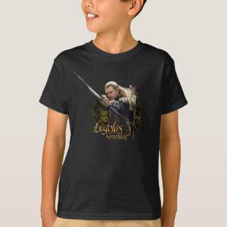 T-shirt Graphique d'arc de dessin de LEGOLAS GREENLEAF™