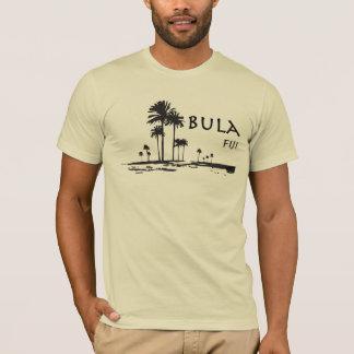 T-shirt Graphique de palmier de Bula Fidji