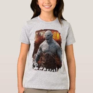 T-shirt Graphique de silhouette d'Azog et d'Orcs