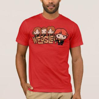 T-shirt Graphique de Weasley Siblilings de bande dessinée