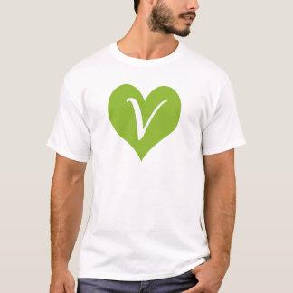 T-shirt Graphique végétalien simple