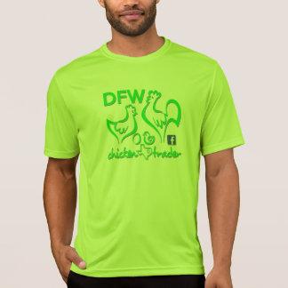 T-shirt Graphiques de commerçant/chaux de poulet de DFW