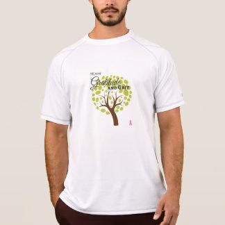 T-shirt Gratitude d'équipe et chemise sportive de la