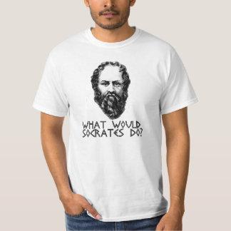 T-shirt grec d'austérité de Socrates