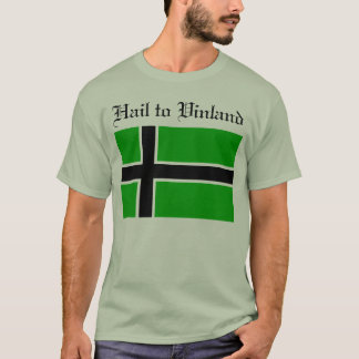 T-shirt Grêle à la chemise de Vinland