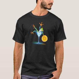 T-shirt Grenouille de cocktail