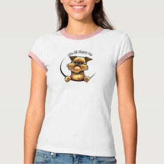 T-shirt Griffon de Bruxelles son tout environ je