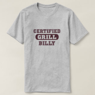 T-shirt Gril certifié Billy