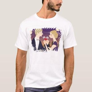 T-shirt Grillage des verres