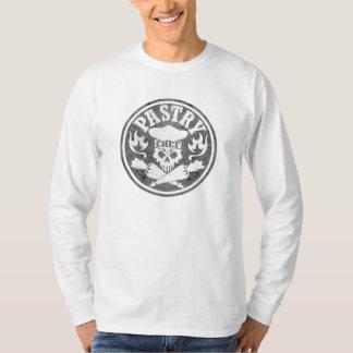T-shirt Gris de crâne de chef de pâtisserie