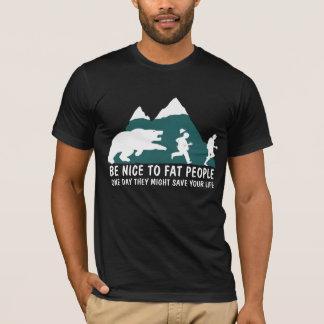 T-shirt Gros hommes offensifs de plaisanterie