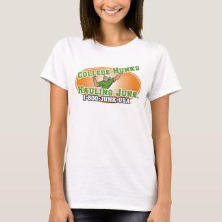T-shirt Gros morceaux d'université transportant le logo de
