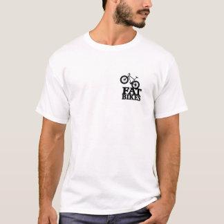 T-shirt Grosse pièce en t 2 de vélo dégrossie