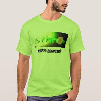 T-shirt Grosse pièce en t de citron