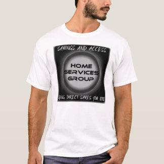 T-shirt Groupe à la maison de services