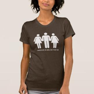 T-shirt Groupe de trois personnes : Des filles de Bi il