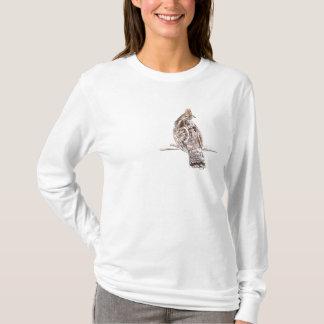 T-shirt Grouse de Ruffed Hoody