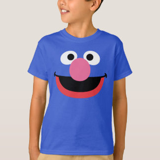 T-shirt Grover font face à l'art