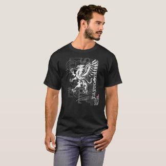 T-shirt Gryphon tribal