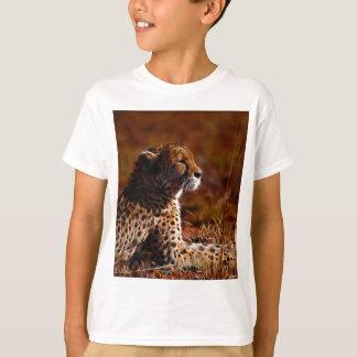 T-shirt Guépard et Dieu