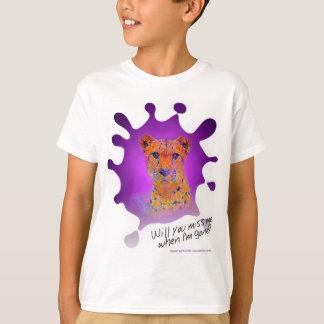T-shirt Guépard Z de tache d'encre