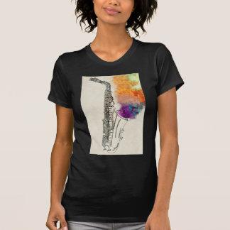 T-shirt Guérison de saxophone