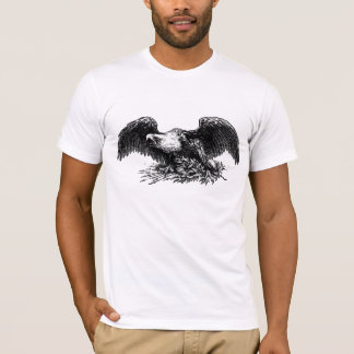 T-shirt Guerre vintage Eagle