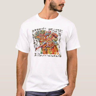T-shirt ** Guerrero de la luz **