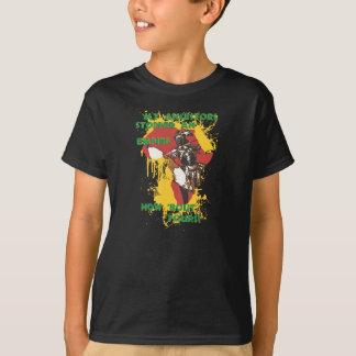 T-shirt Guerrier africain de zoulou