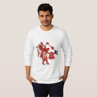 T-shirt Guerrier aztèque de chaman de danse