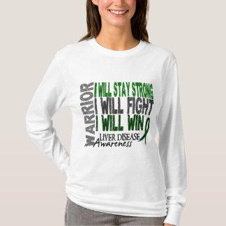 T-shirt Guerrier d'affection hépatique