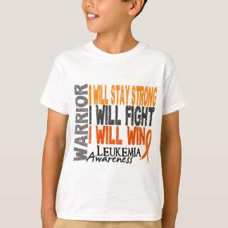 T-shirt Guerrier de leucémie