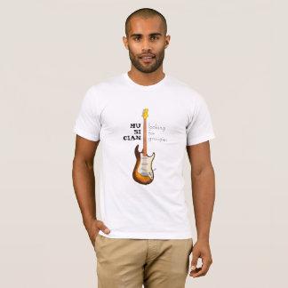 T-shirt Guitare, musicien recherchant des groupies