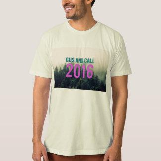 T-shirt GUS seul de colombe et appel en 2016