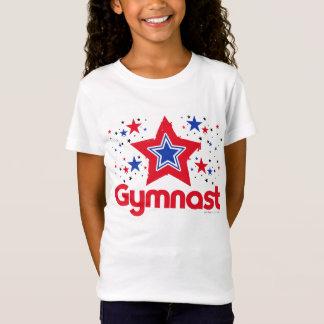 T-Shirt Gymnastique patriotique d'étoiles par Golly des