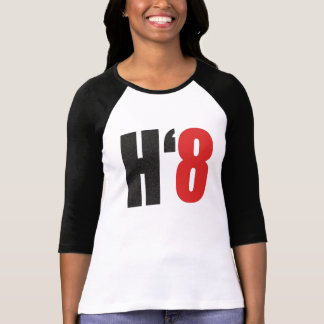 T-shirt H8TE - Votez non sur l'appui vertical 8